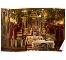 Chapel-Crypt under Mellieha Parish Poster