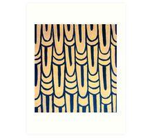 Feathering Art Print