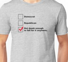 Political Checklist Unisex T-Shirt