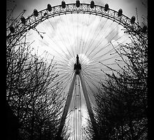 Eye Of London by Moruzzi
