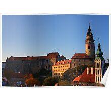 Cesky Krumlov Castle Poster