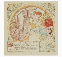 The Baby's Own Aesop by Walter Crane 1908-57 Fortune and the Boy One Piece - Short Sleeve
