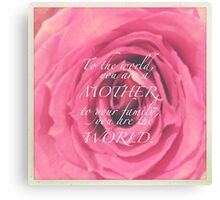 CELEBRATION OF LIFE - Mother's Day v2 Canvas Print