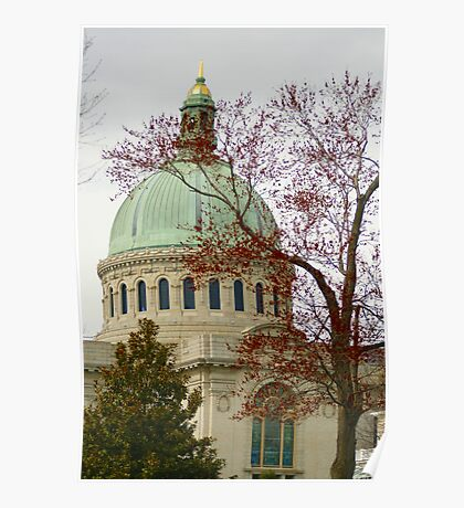 Naval Academy Dome Poster