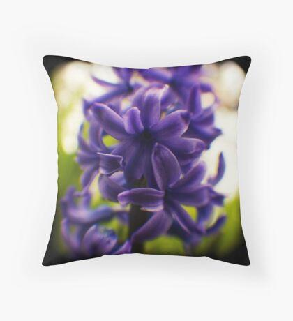 hyacinth TtV Throw Pillow