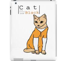 Cat is the new black iPad Case/Skin
