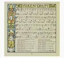 The Baby's Boquet - A Fresh Bunch of Old Rhymes and Tunes - by Walter Crane - 1900-42 Aiken Drum One Piece - Short Sleeve