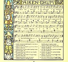 The Baby's Boquet - A Fresh Bunch of Old Rhymes and Tunes - by Walter Crane - 1900-42 Aiken Drum by wetdryvac