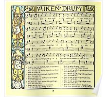 The Baby's Boquet - A Fresh Bunch of Old Rhymes and Tunes - by Walter Crane - 1900-42 Aiken Drum Poster