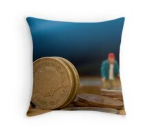 Big Money Throw Pillow