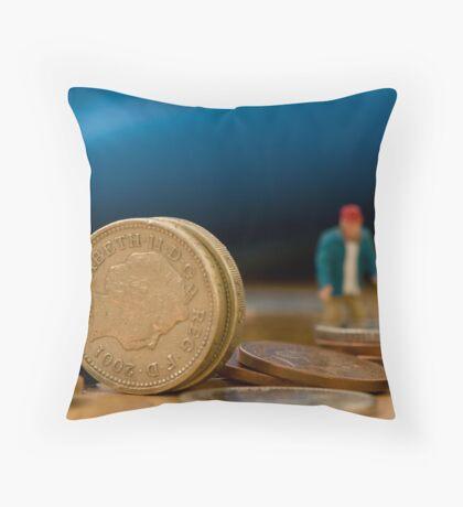 Big Money Throw Pillow