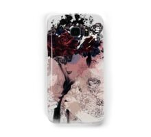 She wears flower Samsung Galaxy Case/Skin