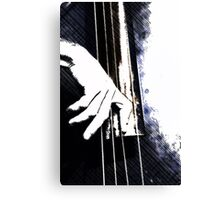 Jazz Bass Poster Canvas Print