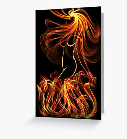 Fire Siren Rising Greeting Card