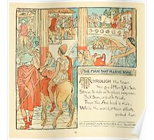 The Baby's Own Aesop by Walter Crane 1908-27 The Man That Pleased None Poster