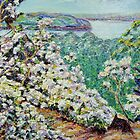 Blossoms Along the Connecticut by Richard Nowak