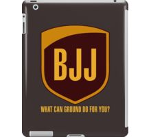 BJJ...What Can Ground Do For You iPad Case/Skin