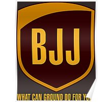 BJJ...What Can Ground Do For You Poster