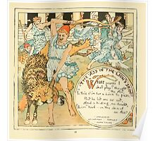 The Baby's Own Aesop by Walter Crane 1908-33 The Ass in the Lion's Skin Poster