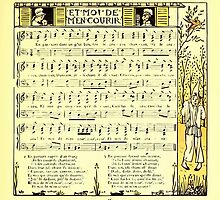 The Baby's Boquet - A Fresh Bunch of Old Rhymes and Tunes - by Walter Crane - 1900-39 Et Moi De Men Courir by wetdryvac