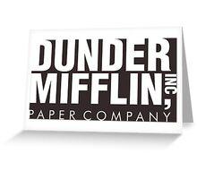 Dunder Mifflin Inc Paper Company Greeting Card