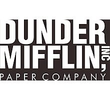 Dunder Mifflin Inc Paper Company Photographic Print