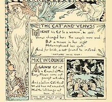 The Baby's Own Aesop by Walter Crane 1908-50 The Cat and Venus, Mice in Council by wetdryvac