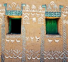 Nubian house, Egypt #4 by Mauricio Abreu