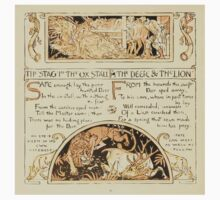 The Baby's Own Aesop by Walter Crane 1908-48 The Stag and the Ox, The Deer and the Lion Baby Tee