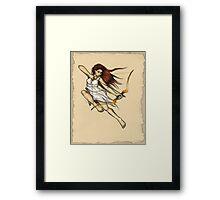 Artemis: Goddess of the Hunt Framed Print