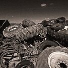 Pile o' Tires by Jhug