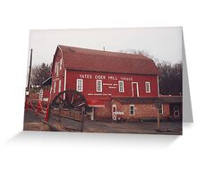 Yates Cider Mill Greeting Card
