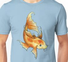 Gold and Red Koi Fish Unisex T-Shirt