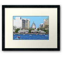 U.S.Capitol and Tidal Basin Framed Print