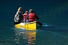Together - Moraine Lake Canada by Barbara Burkhardt