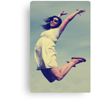 Jump For Joy! Canvas Print