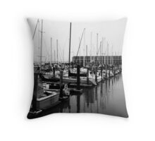 Fishermans Wharfe Throw Pillow