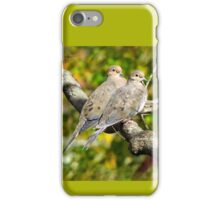 Sweethearts ~ A Pair of Doves iPhone Case/Skin