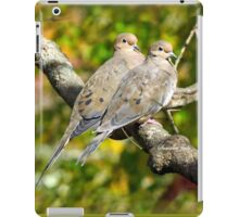 Sweethearts ~ A Pair of Doves iPad Case/Skin