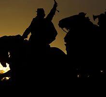 Ulysses S. Grant Memorial - Charging cavalry by Matsumoto