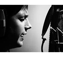 Vocals Photographic Print