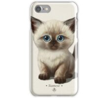 Cataclysm- Siamese Kitten Classic iPhone Case/Skin
