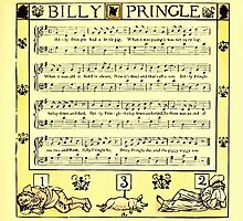 The Baby's Boquet - A Fresh Bunch of Old Rhymes and Tunes - by Walter Crane - 1900-43 Billy Pringle by wetdryvac