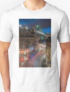 Tyne Night Lights Unisex T-Shirt