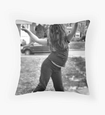 Moves 1 Throw Pillow