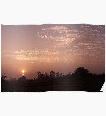 Sunrise at Chiang Mai Poster