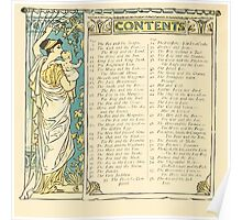 The Baby's Own Aesop by Walter Crane 1908-12 Contents Poster
