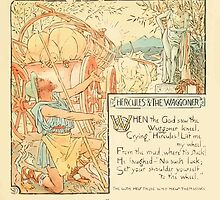 The Baby's Own Aesop by Walter Crane 1908-19 Hercules and The Waggoner by wetdryvac