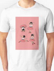 A Quartet of Ballerinas Unisex T-Shirt