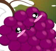 People like grapes Sticker
